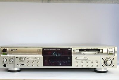Lifetec LT-8964 CD Player MD Minidisc Recorder Kombi  CD auf MD kopieren