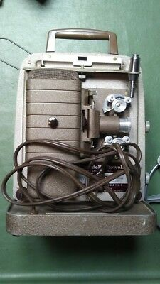 1950's Vintage Bell & Howell 8Mm Film Projector  253Ar