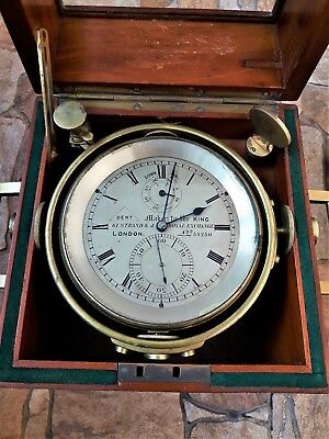 Dent marine chronometer Maker to the King No. 55250 RARE