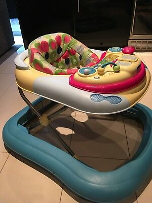Chicco Girello Dj Baby Walker Removable Cot Play Tray