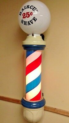 Original Paidar Wall Mount Barber Pole