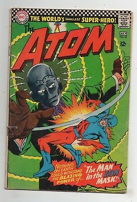DC Comics The Atom #25 Silver Age Writing front page