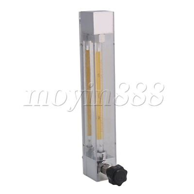 Acrylic Flowmeter for Water Gasoline Liquid Flow Rate LZB-4 1-10L/h