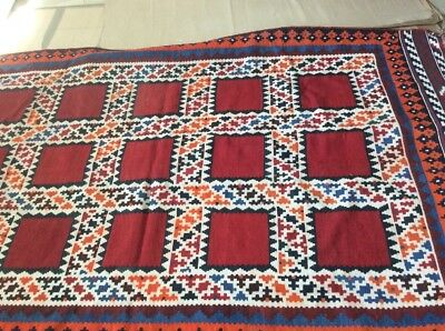 Oriental Kalim Wool Hand Made 254X138 Cm Thickness Is 4 Mm .