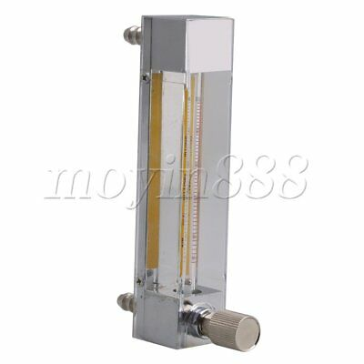 Clear Flowmeter for Oxygen Air LZB-3 100-1000ml/min with 5.4in Height