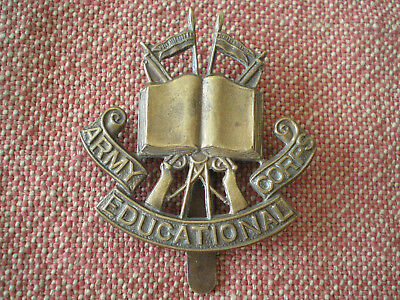 WW1 British Army Education Corps Cap Badge