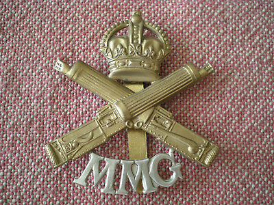 WW1 Motor Machine Gun Corps Cap Badge (former museum collection -- deaccession)