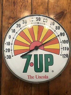 Vintage 7 UP The Uncola Thermometer