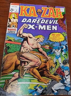 Kazar #1 Daredevil issue (1st series)