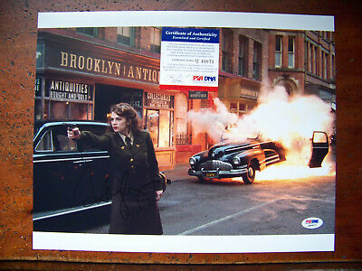 Hayley Atwell Signed Captain America 11x14 Photo Picture PSA/DNA  JSA