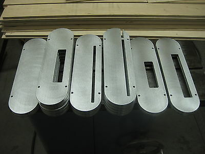 "The ""ultimate"" Unisaw  Insert Plates - Choice Of Six Styles In Billet Aluminum"