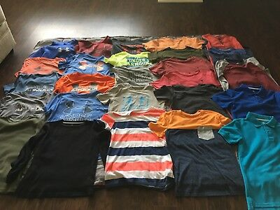 Lot of boys size LARGE shirts and hoodies-Under Armour, Old Navy, Polo