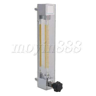Acrylic Flowmeter for Oxygen Air Gas Flow Rate LZB-4 16-160L/h