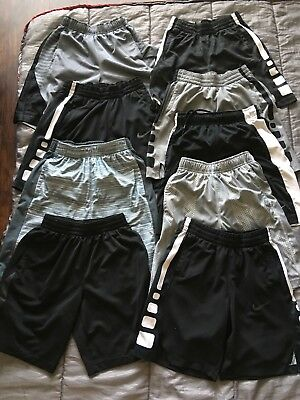 Lot of boys size MEDIUM shorts-Nike and Under Armour
