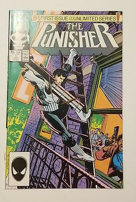 Punisher #1 Ongoing series 1987 (Vol. 2) VF beauty Wow!