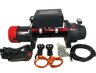 13500lb ELECTRIC RECOVERY WINCH 12v 216:1 High Speed OFF ROAD SPEC 4x4 Winch It