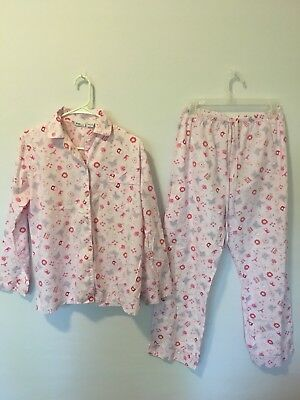 Womens Mimi Maternity Pajama Set Size Small