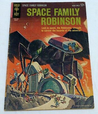 Space Family Robinson #2 Gold Key Vintage Silver Age Comic Book 1962