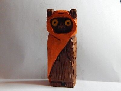 Folk art hand carved t wood  Star Wars Wookie