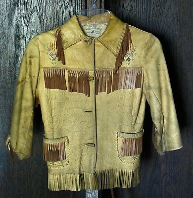 Western Wear Children's Fringe Jacket Chris Line
