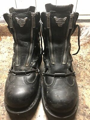 Harley Davidson Brake Light Boots Mens Size 10 Harley Stock Number 91680