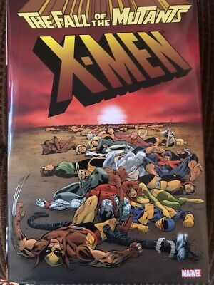 X-men Fall of the Mutants hardcover