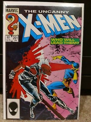 Uncanny X-Men 201 VF 1st Appearance of Nathan Summers