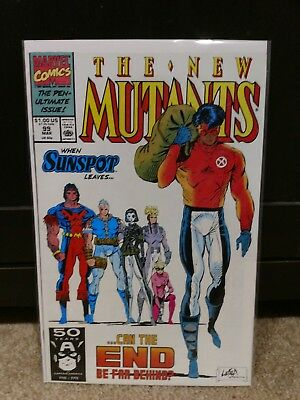 The New Mutants #99 VF 1st Appearance Shatterstar And Feral