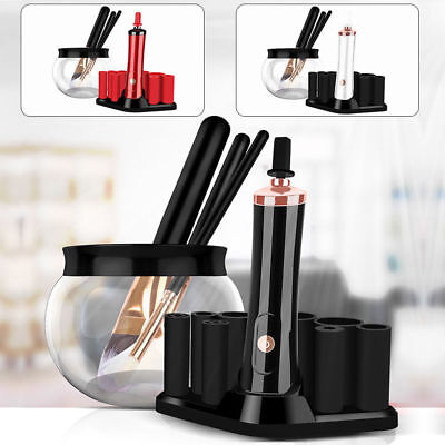 Cosmetic Electric Auto Brush Makeup Brushes Quick Washing Wash Cleaner set Tool