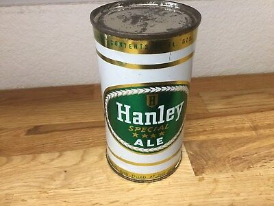 Hanley Special Ale (80-5) empty flat top beer can by Hanley, Providence, RI