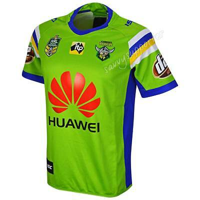 Canberra Raiders 2018 NRL Home Jersey Adults, Ladies, Kids Toddler Sizes BNWT