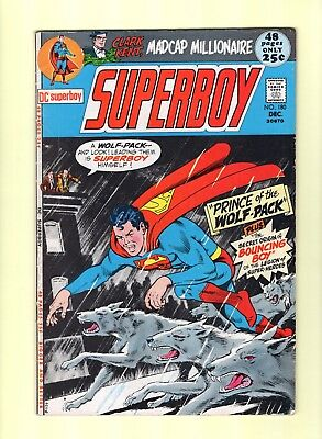 Superboy #180  --  Leader of the Wolf-Pack!  --  6.0  FN  cond.
