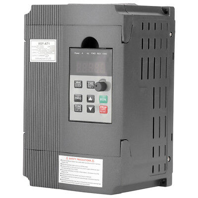 220V 1.5kW Single-phase VFD Variateur De Fréquence Inverseur Vitesse Variable