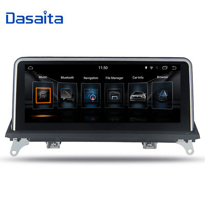 """10.25"""" Android 7.1 Car Stereo Radio Player for BMW X5 E70 X6 E71 Navigation GPS"""