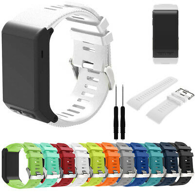 Sport Silicone Strap Replacement Band For Garmin Vivoactive HR Wristwatch Sports