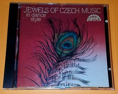 CD  JEWELS OF CZECH MUSIC In Dance Style  Krasy Ceske Hudby  AAD Supraphon  VG+
