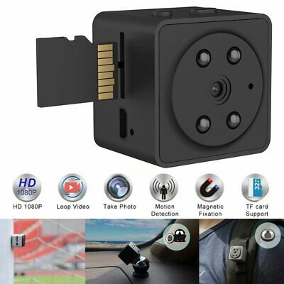 1080P WiFi Mini Hidden Night Vision Spy Camera Wireless Digital DVR Video Cam