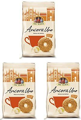 "Tre Marie: ""Ancora Uno "" Biscuits with Pastry Old Style 300gr Packages 3 P.."