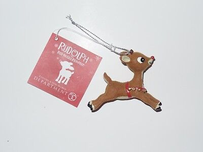 Rudolph The Red-Nosed Reindeer Christmas Ornament Department 56 2011