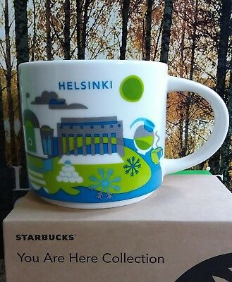 Starbucks HELSINKI Finland You Are Here YAH Mug New with tag SKU