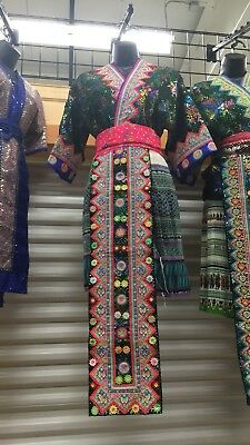 Hmong Tradtional Clothing with no skirt | Size S-M
