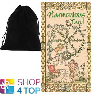 Harmonious Tarot Deck Cards  Esoteric Telling Lo Scarabeo With Velvet Bag New