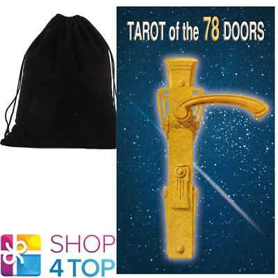 Tarot Of The 78 Doors Deck Cards Platano Telling Lo Scarabeo With Velvet Bag New