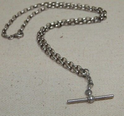 Sterling Silver Fob Chain, 925
