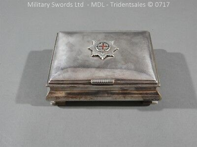 Coldstream Guards Officers Tobacco Box