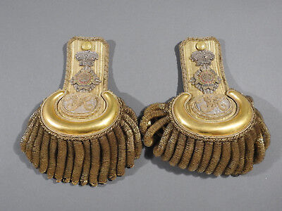 Victorian 28th Madras Native Infantry Epaulettes