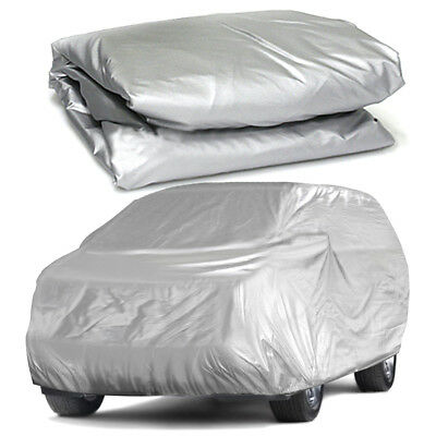 Full Car Cover For SUV Van Truck In Out Door Dust UV Ray Rain Snow WaterProof