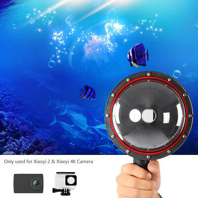 Telesin Dome Port Diving Lens Cover Waterproof Housing Cover for Gopro Hero 4/5