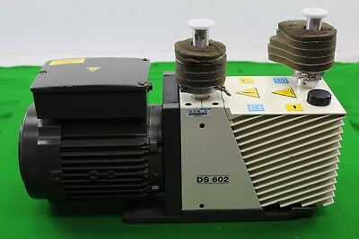 Leroy Somer DS602 Vacuum Pump Laboratory Equipment