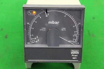 Edwards Pirani 501 Mbar Vacuum Gauge Read Out Pump Laboratory